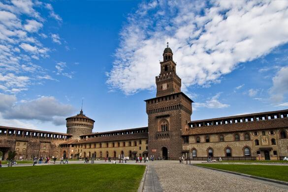Viagem de Pesquisa - Castelo Sforzesco