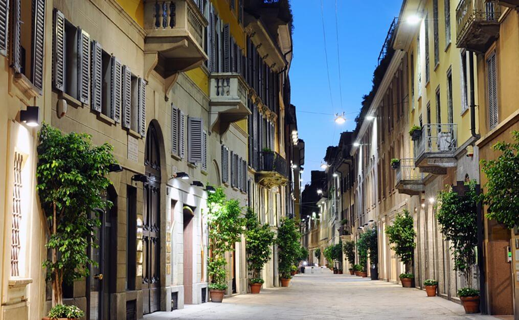 Viagem de Pesquisa - Via Della Spiga
