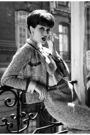 Chanel e Tweed, anos 50.